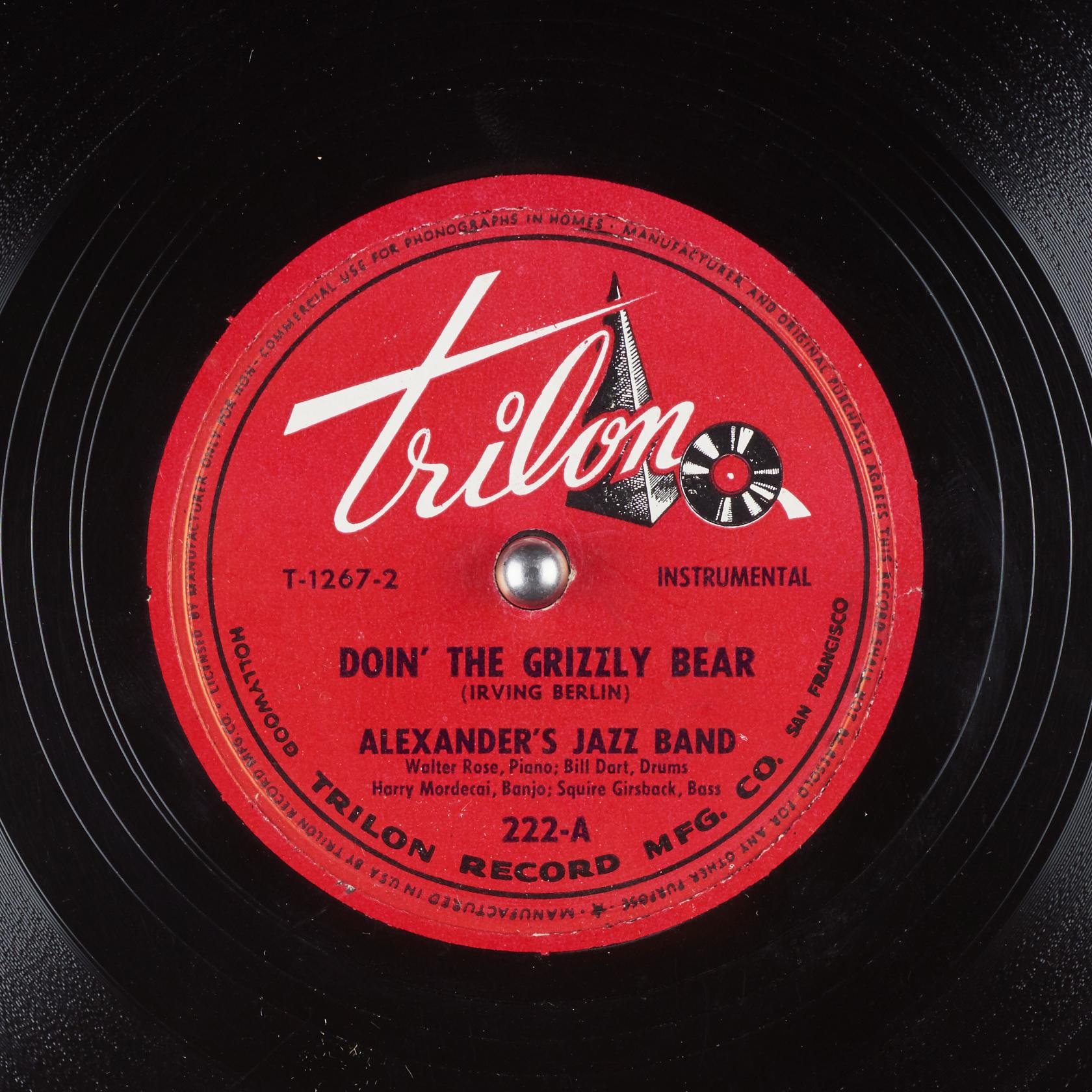 Doin' the Grizzly Bear : Alexander's Jazz Band : Free ...