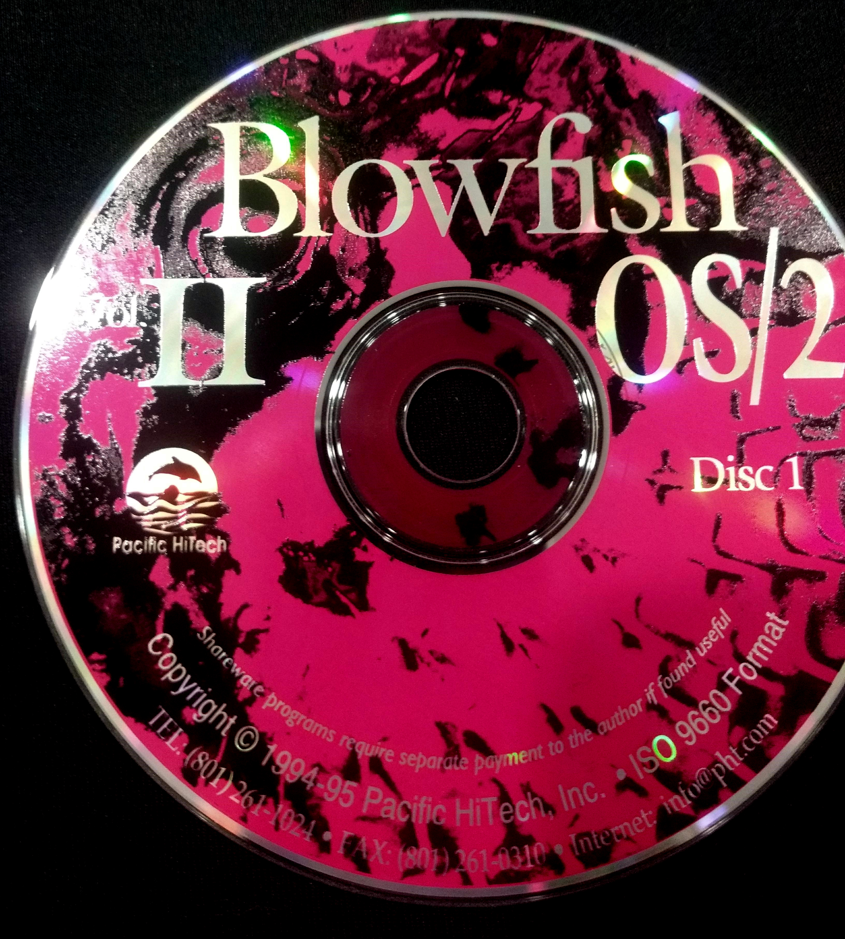 Blowfish II OS/2 – CD-ROM