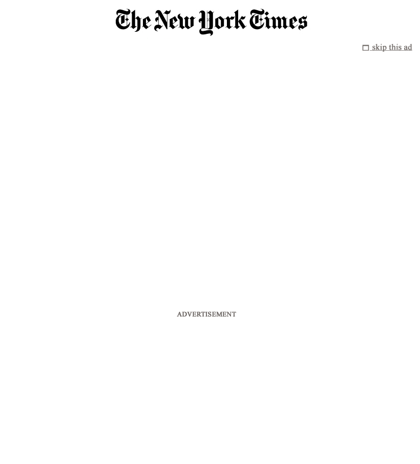 The New York Times at Thursday May 3, 2012, 12:09 a.m. UTC