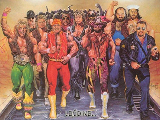 WWF RAW Legends (MOD)