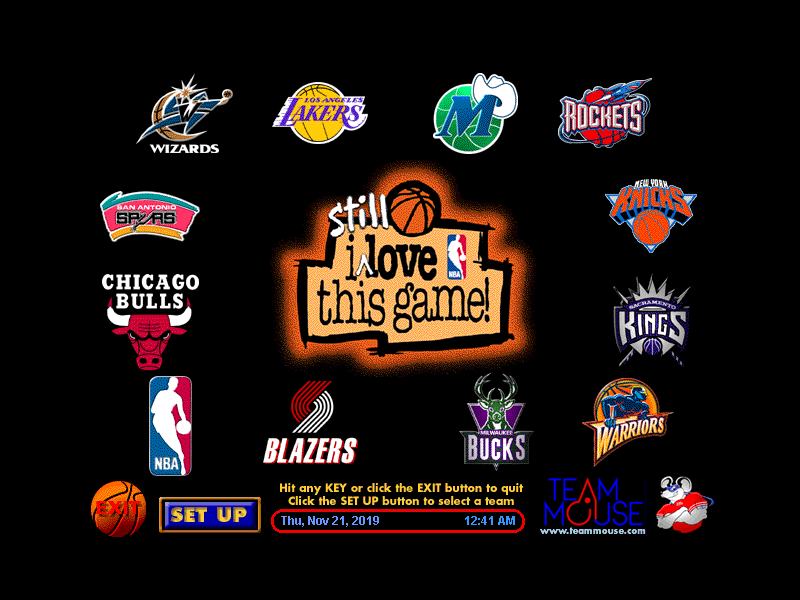 NBA '98 Screensaver LE
