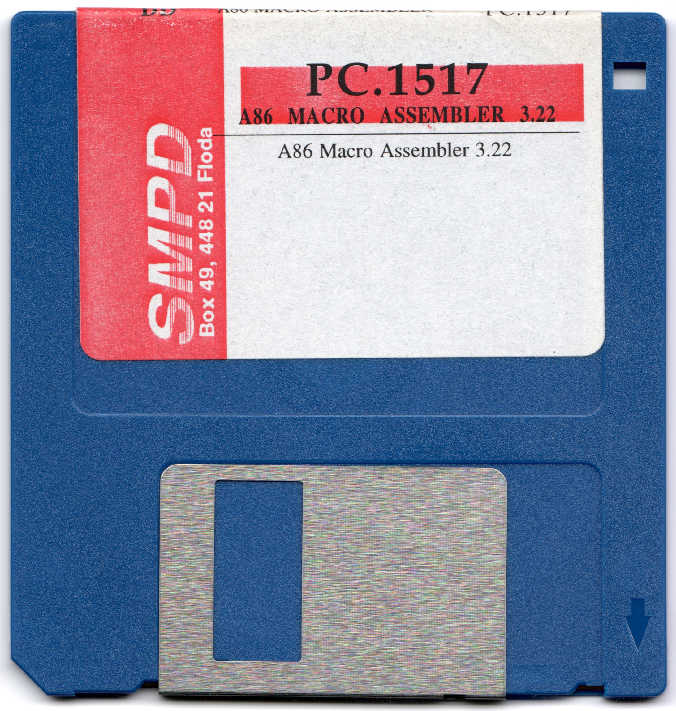 SMPD PC.1517 A86 Macro Assembler 3.22