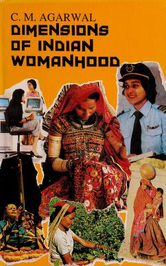 Cover of: Dimensions of Indian womanhood | edited by C.M. Agrawal.