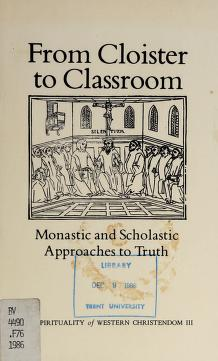Cover of: From Cloister to Classroom | Rozanne Elder