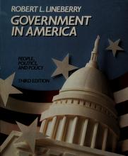 Cover of: Government in America | Robert L. Lineberry