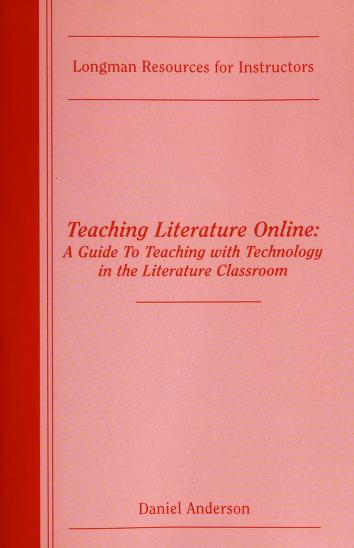 Cover of: Teaching Literature Online |